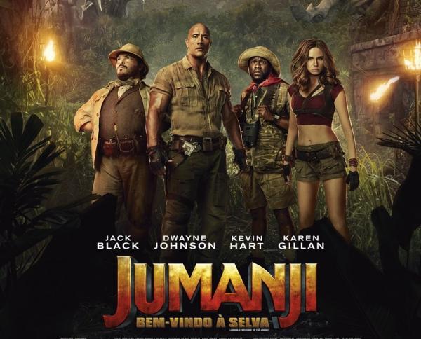 Jumanji no Cine Veneza Avaré