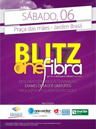 One Center promoverá blitz no Jardim Brasil