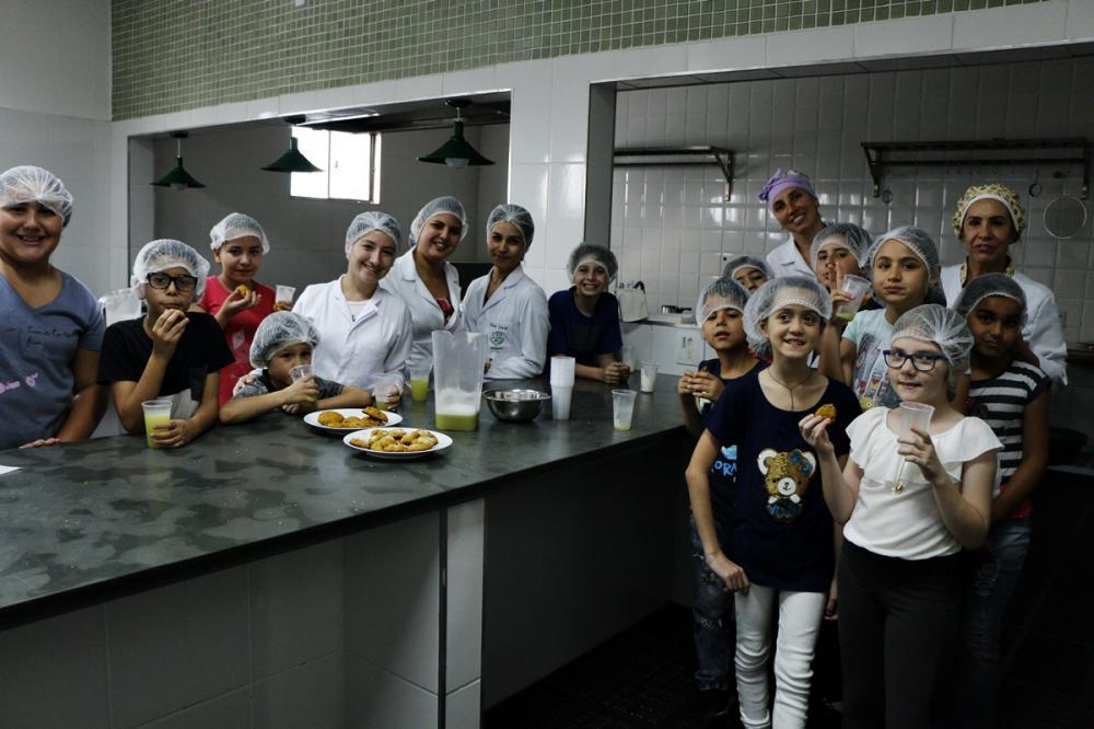 Faculdade Eduvale promove segunda temporada do projeto Nutrichefinhos