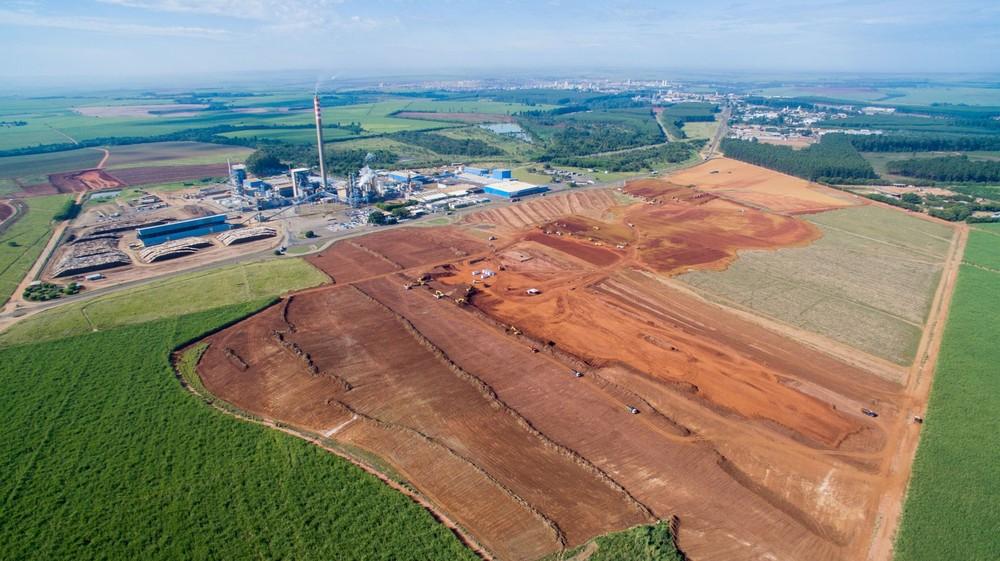 Expansão de fábrica de celulose gera vagas de emprego em Lençóis Paulista — Foto: Grupo Bracell/Divulgação