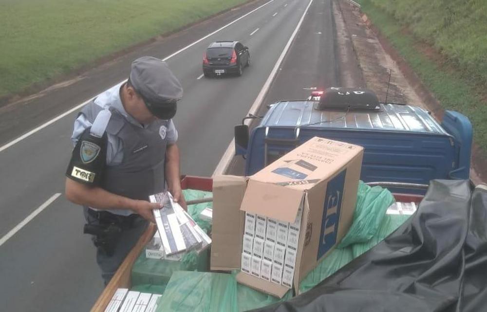 Carreta com placas de Guapirama é apreendida na Rodovia Castello Branco