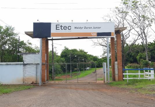 ETEC de Piraju (FOTO: Diego dos Reis/Arquivo Expresso Piraju)