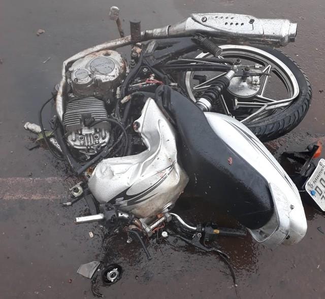 Motociclista morreu após batida frontal com caminhão em Paranapanema (SP) — Foto: Arquivo Pessoal