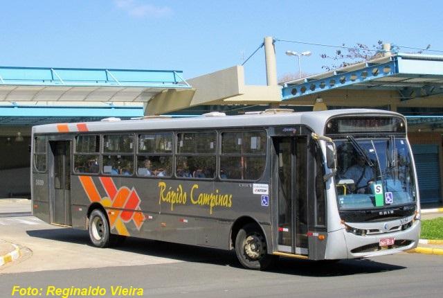 Rápido Luxo Campinas, antiga Osastur, assumiu o transporte de Avaré em 2009. Foto: Reginaldo Vieira