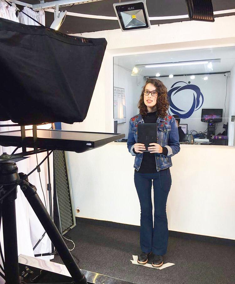 Estudante de Jornalismo da Eduvale é selecionada para programa da UNICEF