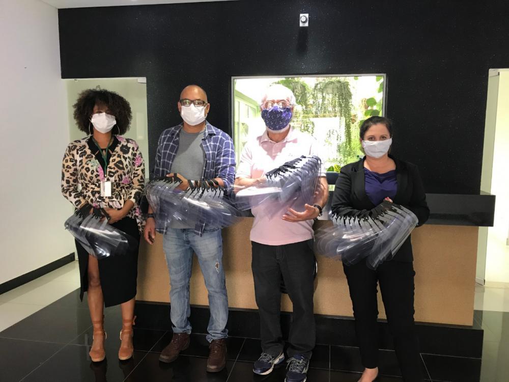Diretoria da Santa Casa de Avaré agradece ao Instituto Federal pela doação de máscaras faciais