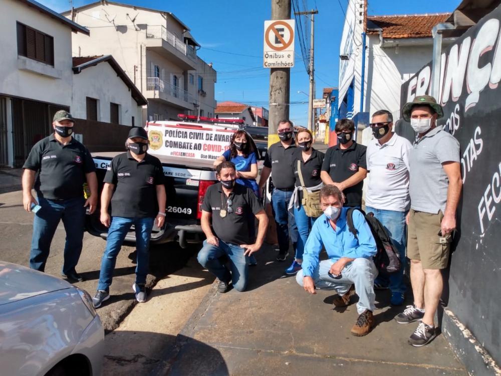 "Polícia Civil participa da campanha ""Máscara é Vida"""