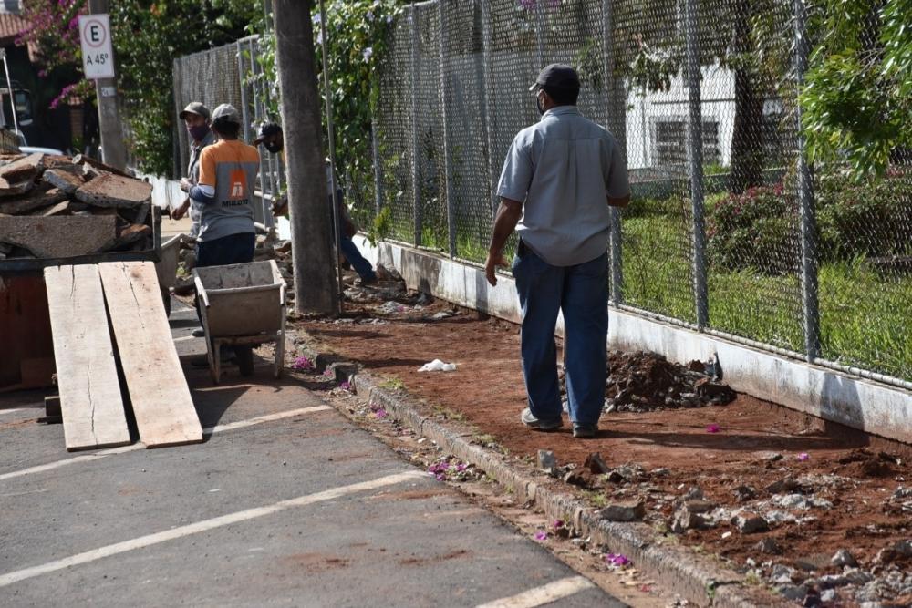 Começam as obras de revitalização da Rua Major Matheus em Botucatu