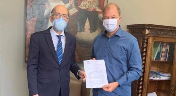 Prefeito de Botucatu pede mais 10 leitos UTI/Covid com respiradores para o Governo Estadual